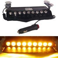 9 LED Car Dash Board Emergency Strobe Flashing Light Hazard Warning Amber light