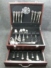 NRA National Rifle Association Stainless Flatware Set with Original Chest RARE