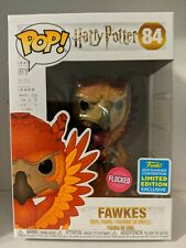 Funko Pop! Flocked Fawkes - 2019 SDCC Summer Convention Harry Potter - IN HAND