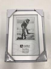 Malden International Designs Concept Wood Picture Frame 4x6 White New