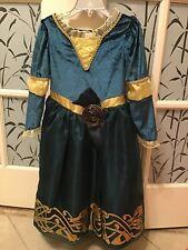 Disney Store Pixar Brave Merida Dress/Costume (size 4)