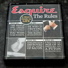 Esquire The Rules: A Mans Guide to Life (Esquire Books)