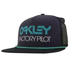 Oakley Factory Pilot Trucker Cap Purple Shade Black Snapback Adjustable Mesh Hat