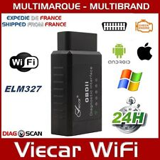 Interface de diagnostic ELM327 WIFI Viecar PC Android iOs OBDII OBD2 iPhone iPad