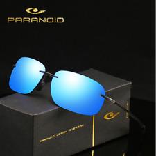 Ultra Light Unisex Rimless Sunglasses Outdoor Driving Fishing Summer Glasses