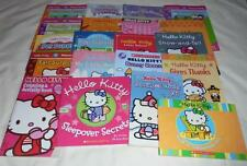 HUGE set of 20 Hello Kitty picture books