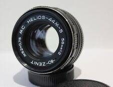 Helios 44M-5 58mm f2 Standard Manual Prime Lens Pentax M42 Screw Mount