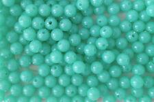 250 cuentas de plástico opaco color verde pálido 8 mm ideal para hacer pulseras AB0215