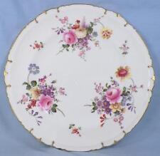 Royal Crown Derby Posies Dinner Plate Flowers Porcelain Vintage Posie Ely HELP
