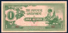 Myanmar (Japanese Government) AU/UNC Note 1 Rupee ND 1942 P-14