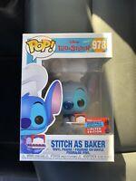 Funko Pop! Disney Lilo & Stitch NYCC 2020 Stitch As Baker Figure