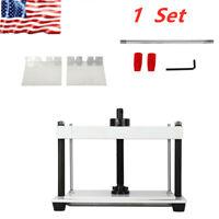A4 Manual Flat Paper Press Machine For Paper Books Binding Invoice Press Machine