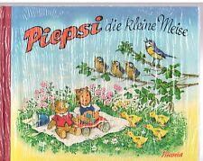 """Lustiges Bilderbuch v. Fritz Baumgarten""""Piepsi die kl. Meise"""",Titania-Verlag,neu"""
