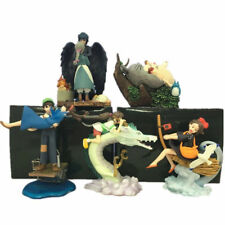 5pcs Tonari no Totoro Spirited Away Howl's Moving Castle Anime Figures Figurine