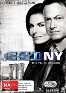 CSI: NY - Season 9 (The Final Season)  - DVD - NEW Region 4