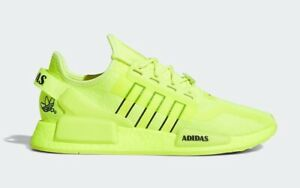Adidas NMD_R1.V2 Solar Yellow/Core Black/Cloud White New Size 10.5 US H02654