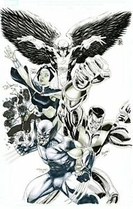 UNCANNY X-MEN 492 Cover Jam Tan Nauck Segovia Daniel Pagulayan Wolverine XMen