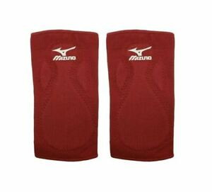 Mizuno Mzo Slider Sliding Knee Pad Baseball Softball Red One Size Youth Set of 2