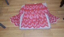 miss selfridge women red tops size 8