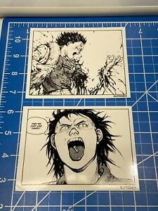 2 Authentic Supreme Akira Stickers Pills NOS Fast Free Shipping W/ Tracking