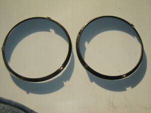1955-56 DeSoto Headlight Outer Retaining Rings 1604076