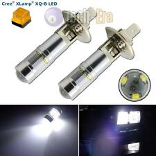 2 High Power Xenon White H1 CREE Reflector LED Bulb Lamps for Fog Driving Lights