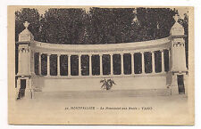 montpellier , le monument aux morts  -yano