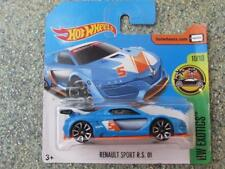 Hot Wheels 2017 #252/365 RENAULT SPORT R.S. 01 blue HW Exotics