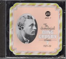 The Chronological Bing Crosby Volume 7 1929-30 CD