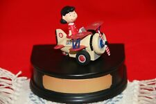 CHORO Q TAKARA PEANUTS SNOOPY COLLECTION SNOOPY LUCY IN PLANE MINT NIB