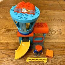 Lego Duplo Airport Tower 10871 Incomplete Set Building Brick Block Lot