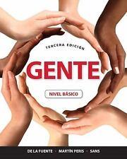 Gente : Nivel Básico by Neus J. Sans, María José de la Fuente, Ernesto J. Martín