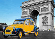 AUTOMOTIVE ART - CITROEN 2CV  - HAND FINISHED, LIMITED EDITION (25)