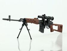 "1/6 Weapon Model SVD Snayperskaya Vinyovka Dragunov Rifle Gun F 12"" Figure"
