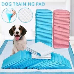 50/200/400X Pet Toilet Training Pads Puppy Dog Cat Pee Indoor Super Absorbent