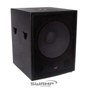 """SWAMP 600W RMS 1200W MAX - 18"""" Passive SUBWOOFER / 18 inch PA Sub Speaker"""