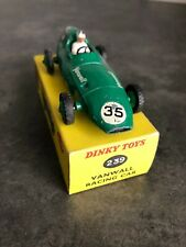 VINTAGE DINKY TOYS 239 VANWALL RACING CAR, IN BOX