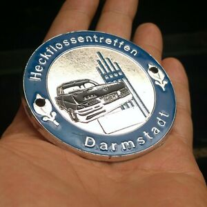 Mercedes Benz vintage pagoda club' badge DASH PLAQUE darmstadt 220