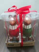 Christmas Reindeer Tag Brand Salt And Pepper Shakers New In Box