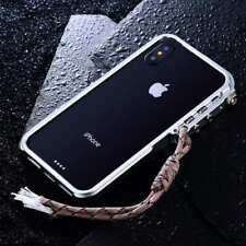 Metal Trigger Case For iPhone X 8 7 6s Plus 5s 4s Aluminum Frame Bumper Cover