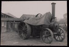 Glass Magic Lantern Slide RANSOMES SIMS TRACTION ENGINE DATED 1960 PHOTO
