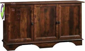 Sauder 420122 Viabella Stora Cabinet, Curado Cherry Finish