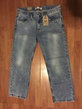 BRAND NEW w/Tags Mens LEVIS 505 Jeans Dungarees Pants Size 14 Husky  W 33 L 28