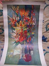 Lithographie René MARGOTTON  Numéroté / N°1368 / 76cm X 38cm