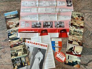 documents du Paquebot S/S France 1969