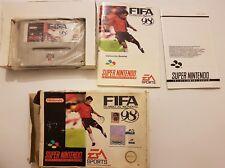 FIFA 98 :Rumbo al MUNDIAL Super Nintendo SNES pal España y completo