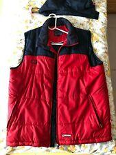 Sportswear   Wärme Weste   Gr. M  (rot-blau)    Fa. WIND