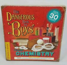 Thames and Kosmos The Dangerous Book For Boys Classic Chemistry Set Experiment