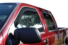 Auto Ventshade 94075 Ventvisor Deflector 4 Pc Fits 83-97 F-250 F-250 Hd F-350