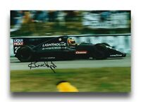 KARL WENDLINGER HAND SIGNED 12X8 PHOTO - F1 AUTOGRAPH 1.